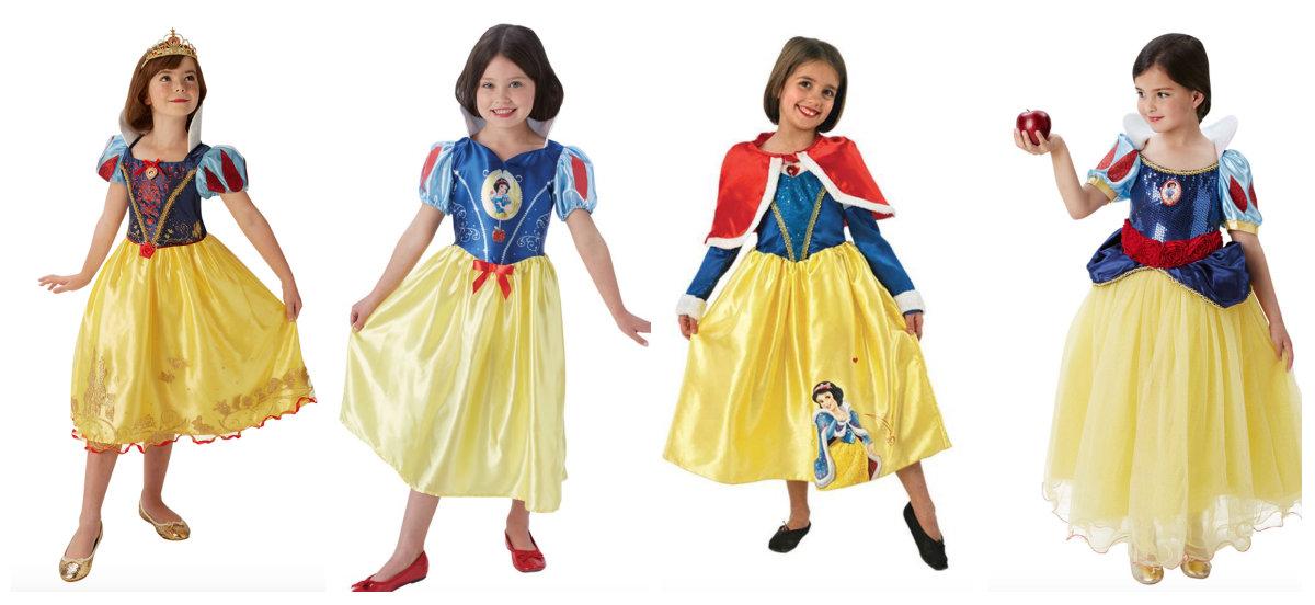 collage 7 - Disney prinsesse kostume til børn