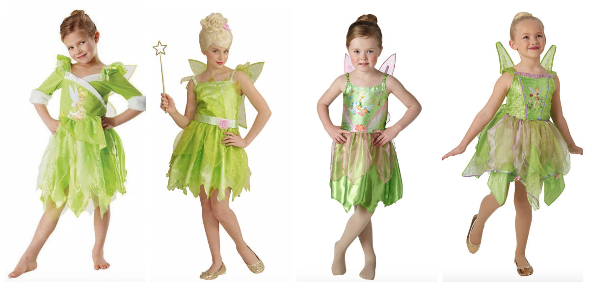 collage 8 - Disney prinsesse kostume til børn