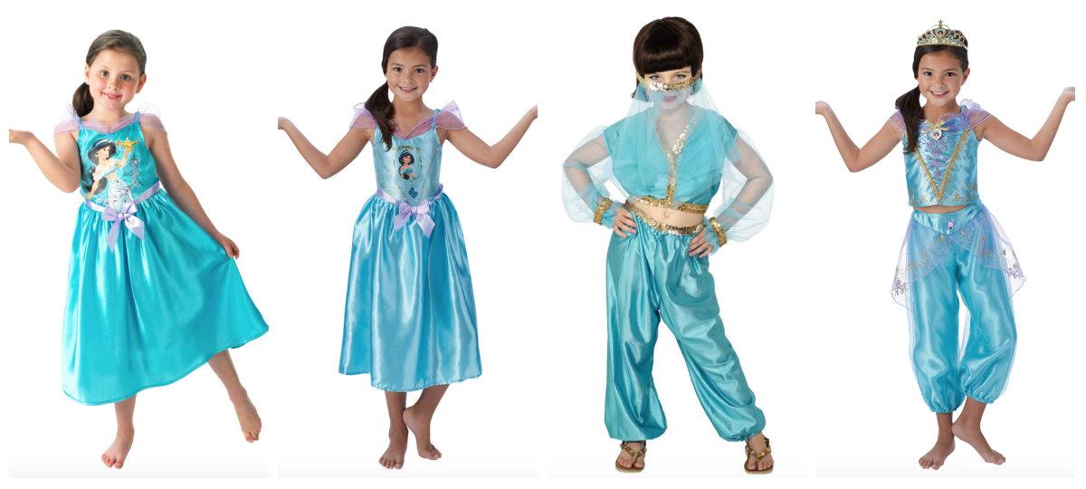 collage 9 - Disney prinsesse kostume til børn