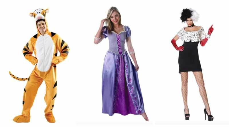 disney kostume til voksne, disney udklædning til voksne, disney voksenkostumer, disney voksneudklædning, disney fastelavnskostume til voksne