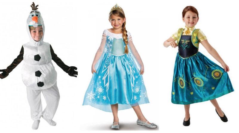 fa728ea65f75 Frost kostume til børn - Alletiders Disney