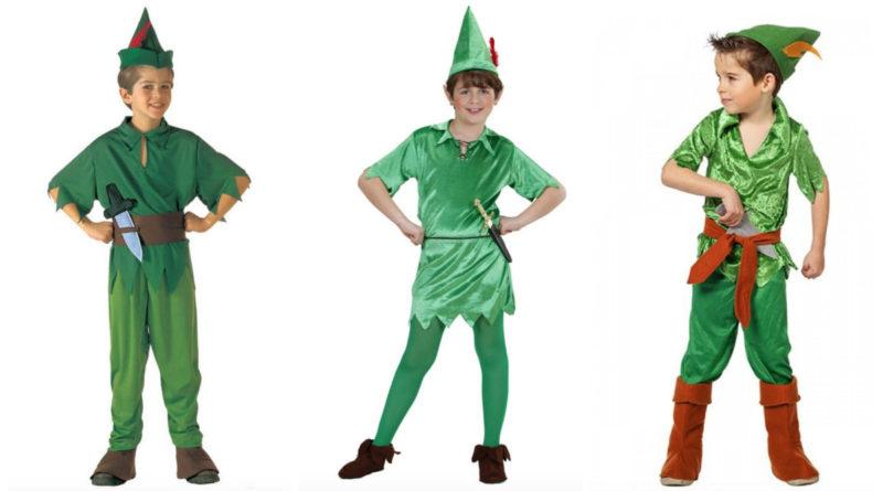 peter pan kostume til børn, peter pan udklædning til børn, peter pan tøj til børn, peter pan børnekostumer, disney kostume til børn, alletiders Disney