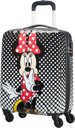 Minnie mouse kuffert med 4 hjul - Minnie Mouse kuffert