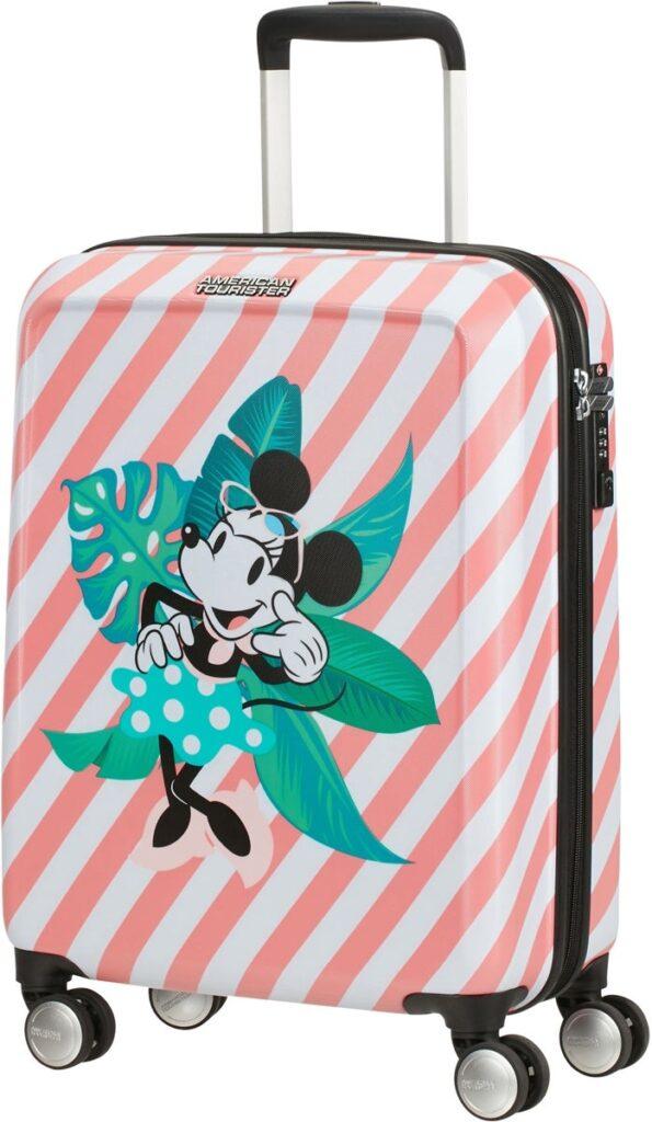 minnie mouse trolley 595x1024 - Minnie Mouse kuffert