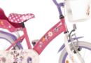 Minnie Mouse cykel og rulleskøjter