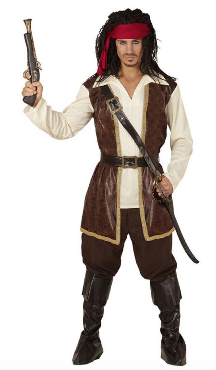 Jack sparrow kostume - Jack Sparrow kostume til voksne