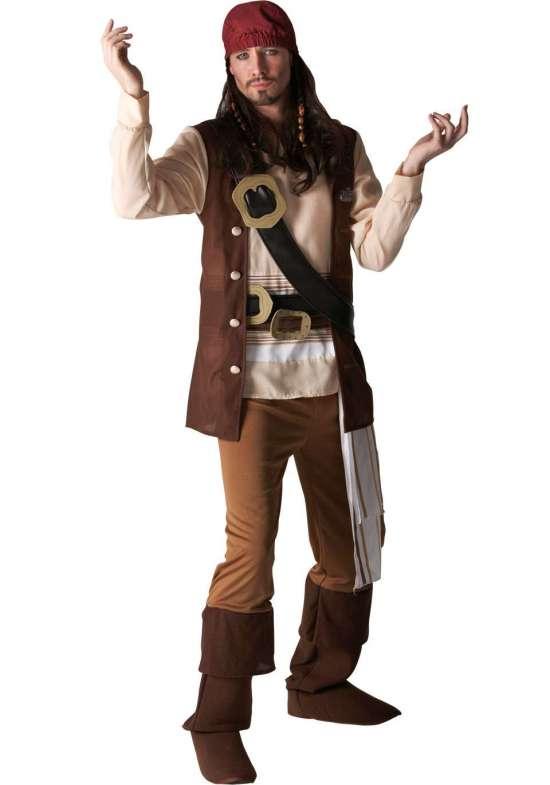 captain jack sparrow kostume - Jack Sparrow kostume til voksne
