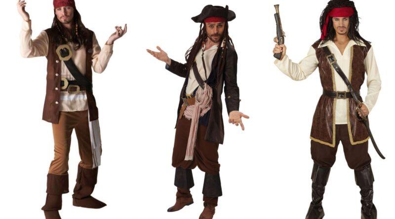 Jack Sparrow kostume til voksne
