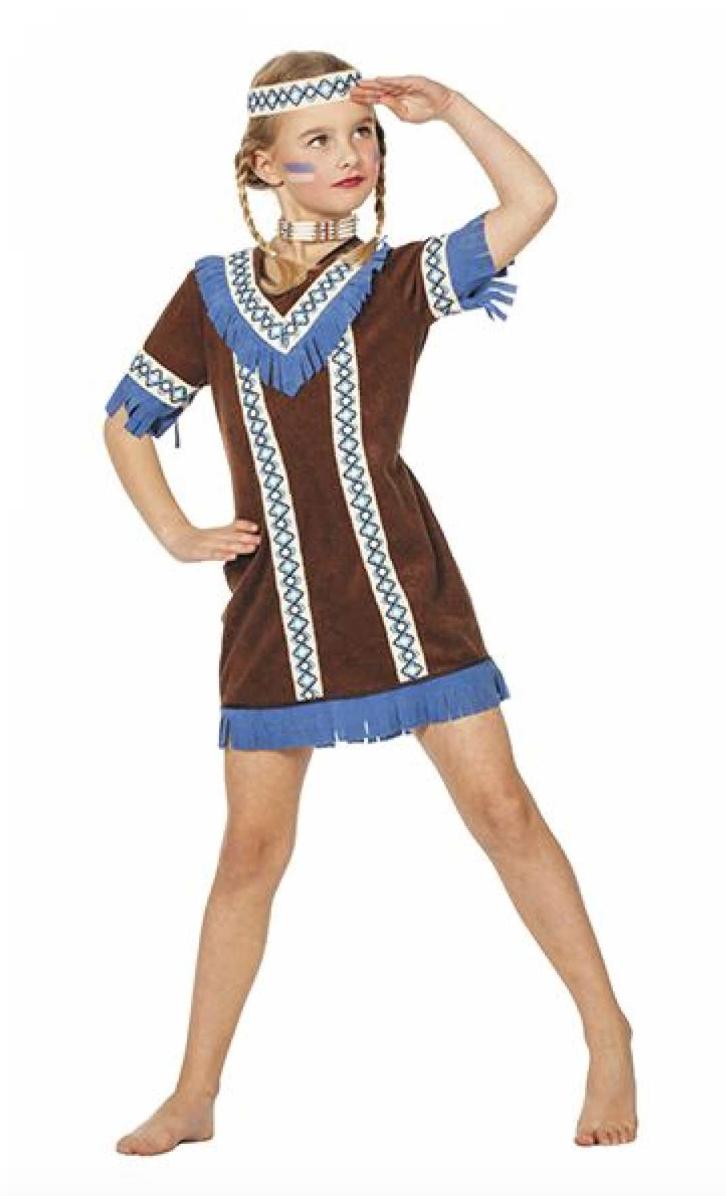 Skærmbillede 2018 12 12 kl. 10.22.49 - Pocahontas kostume til børn