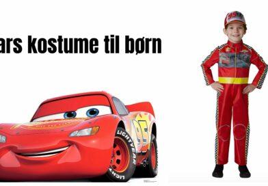 Cars kostume til børn