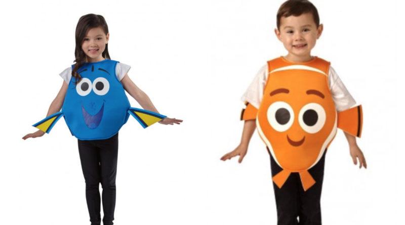 Find dory kostume til børn, fine nemo kostume til børn, find dory udklædning til børn, find nemo udklædning til børn, find dory disney, disney udklædning, disney kostumer, disney børnekostumer, alletiders disney