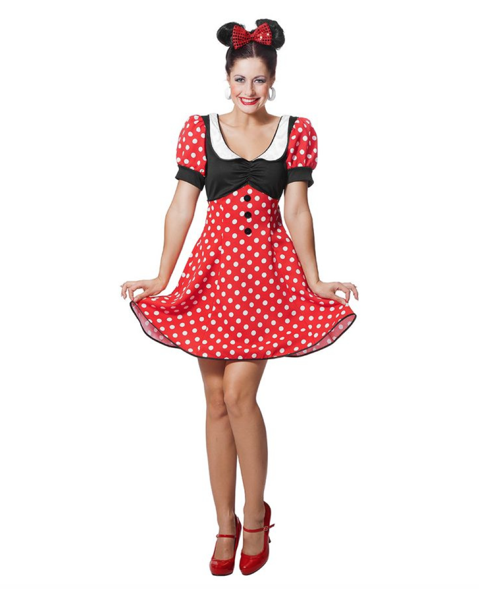 1a36590ed1c8 Minnie Mouse kostume til voksne - Alletiders Disney