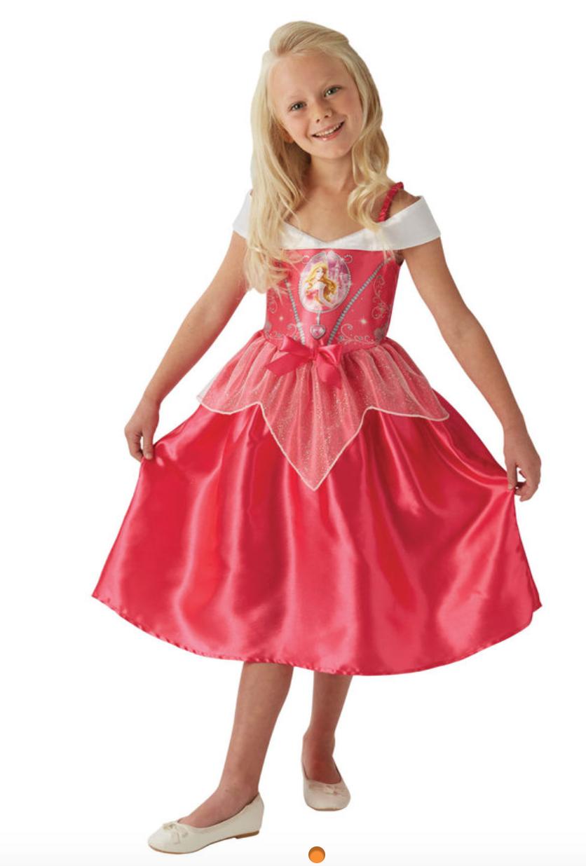 Skærmbillede 2018 09 30 kl. 13.40.43 - Disney prinsesse kostume til børn