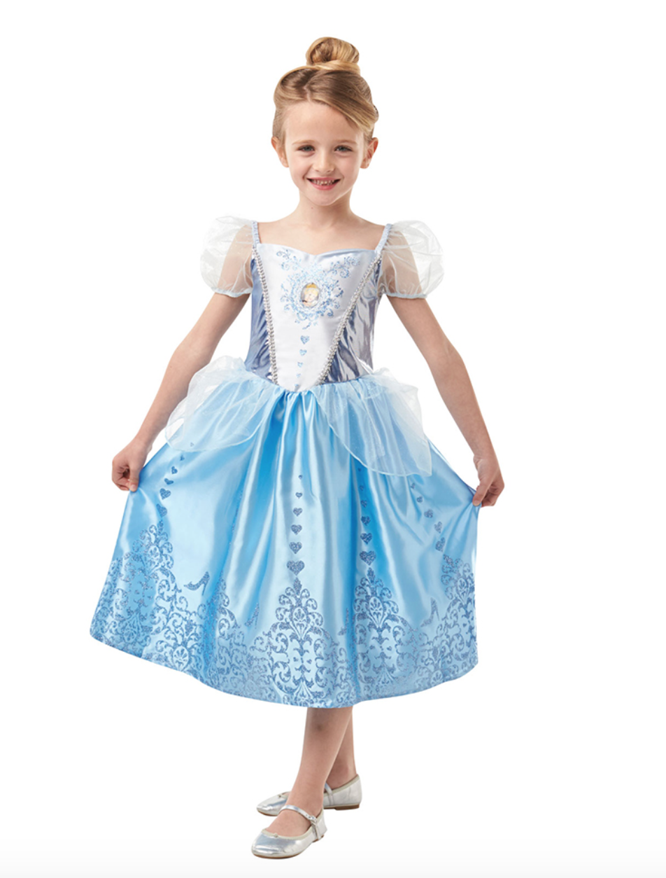 Til Askepot Alletiders Børn Disney Kostume HC5qa