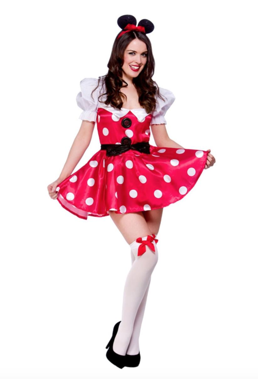 Skærmbillede 2018 12 28 kl. 10.23.54 - Minnie Mouse kostume til voksne