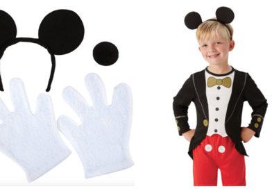 Mickey mouse kostume til børn