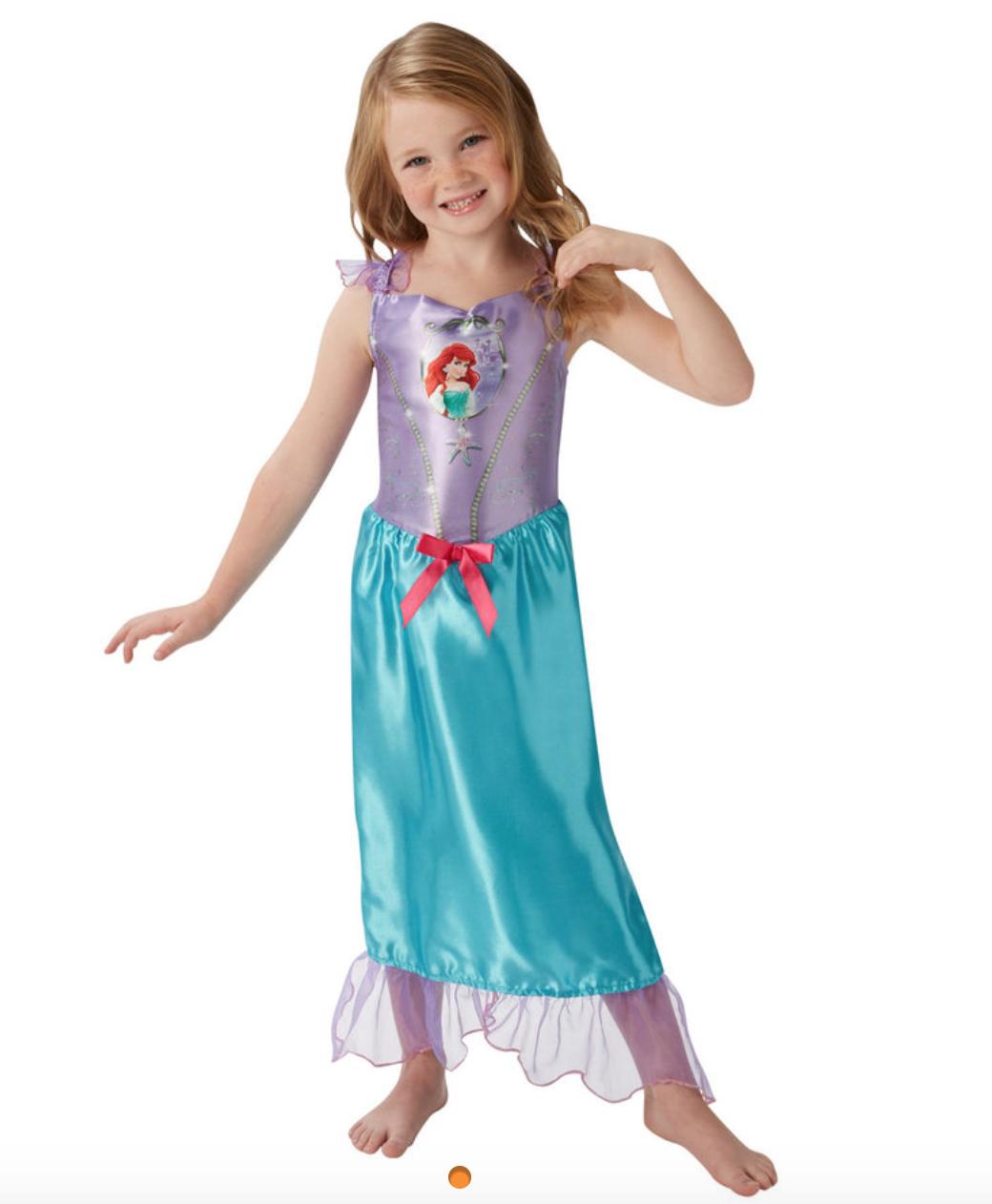 Skærmbillede 2018 09 30 kl. 13.59.55 - Disney prinsesse kostume til børn