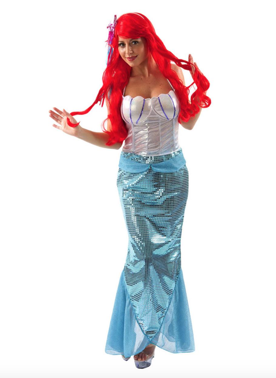 Skærmbillede 2018 12 10 kl. 23.52.29 - Ariel kostume til voksne