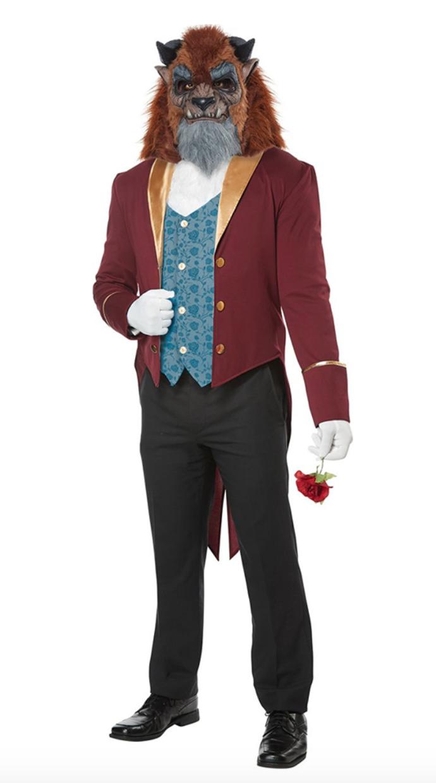0df9135cb4a Kjole har gennemsigtige skulderstropper, så du kan selv vælge om du vil  vise bare skuldre eller ej. Find kostumet hos Partyking.