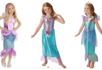 Ariel kostume til børn
