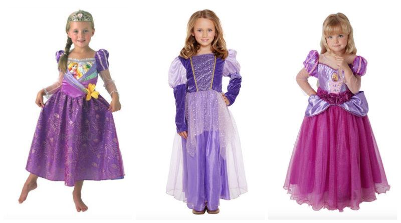 Rapunzel kostume til børn