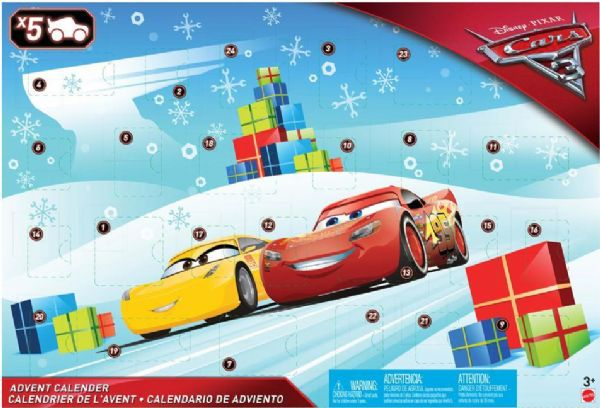 Disney julekalender med legetøj - Cars julekalender 2019