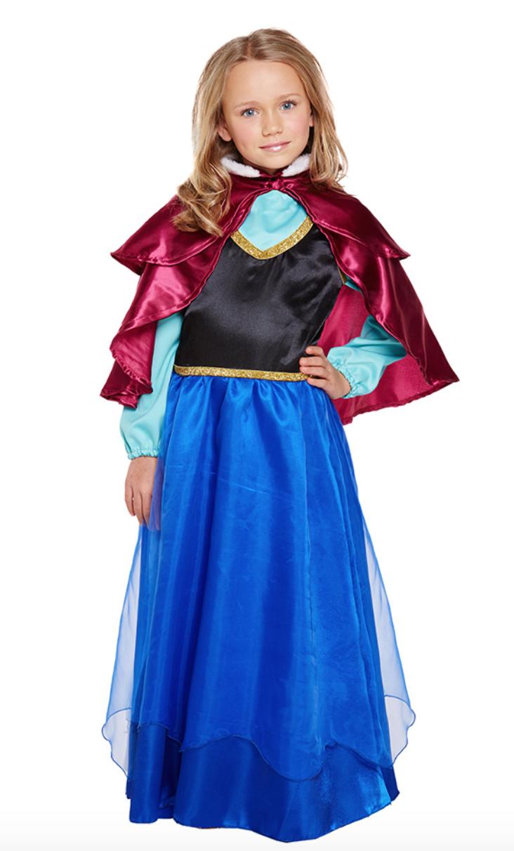 Skærmbillede 2018 12 10 kl. 19.35.07 - Disney prinsesse kostume til børn