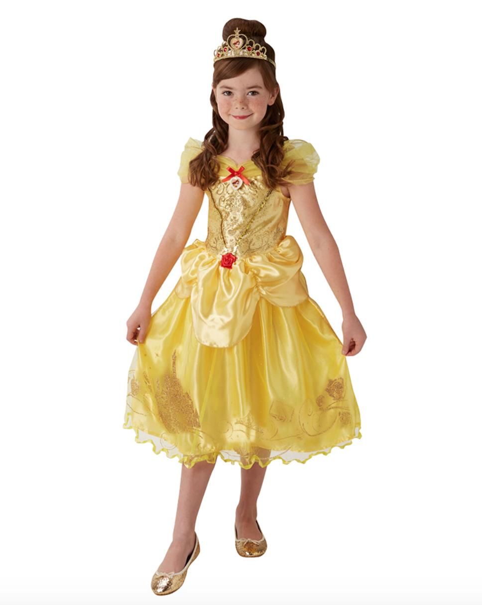 027efdfdbd1f Belle Børnekostume. Med denne fantastisk smukke kjole ...