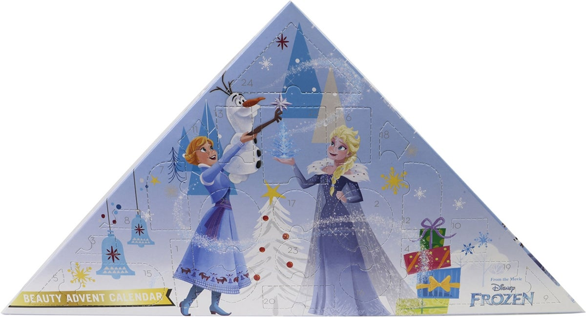 disney frost julekalender med sminke til børn - Frost julekalender 2019