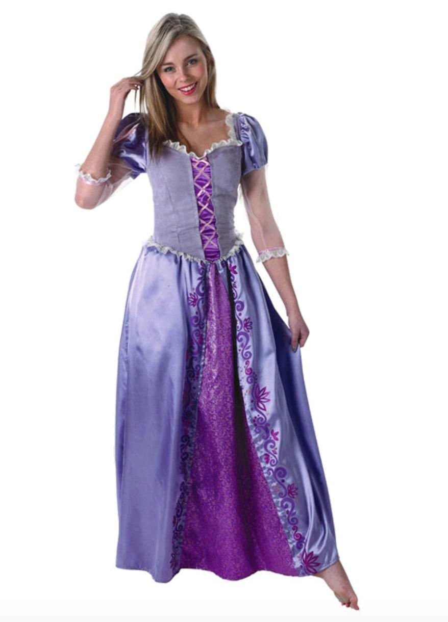 Skærmbillede 2018 12 11 kl. 00.20.27 - Rapunzel kostume til voksne