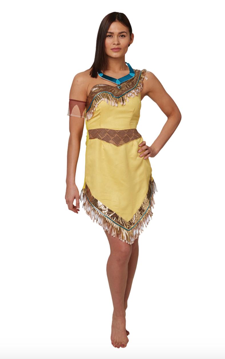 3b36f89d9c2a Pocahontas kostume til voksne - Alletiders Disney