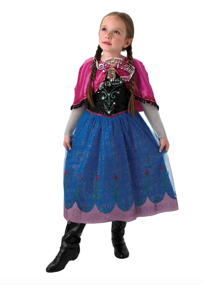 anna kostume med musik - Anna kostume til børn