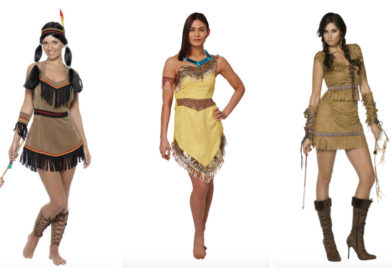 Pocahontas kostume til voksne