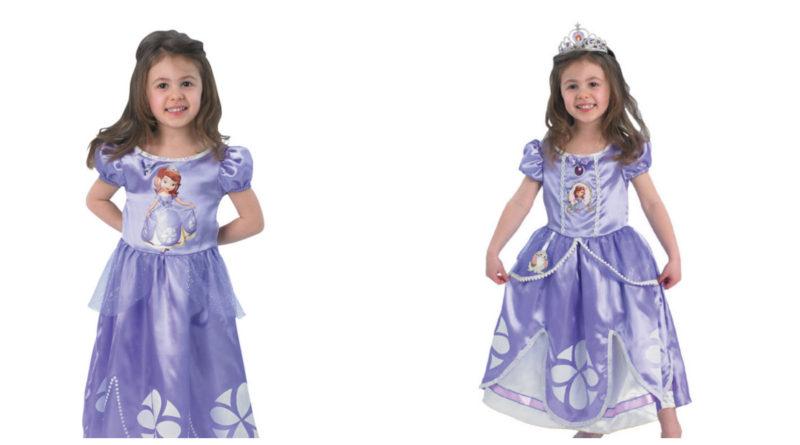 Sofia den første kostume til børn, sofia den først udklædning, sofia den første fastelavnskostume til børn, sofia den første børnekostumer, disney kostumer til børn, disney børnekostumer, alletiders disney