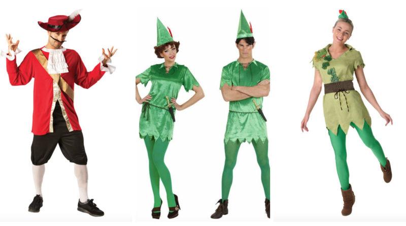 Peter Pan kostume til voksne
