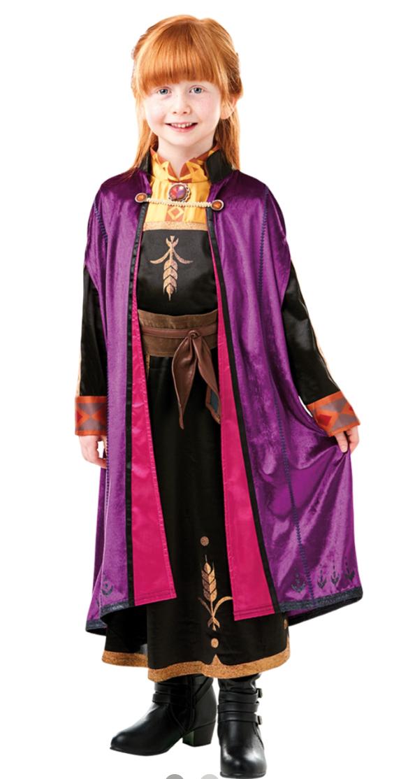 frost 2 anna kostume til børn - Anna kostume til børn