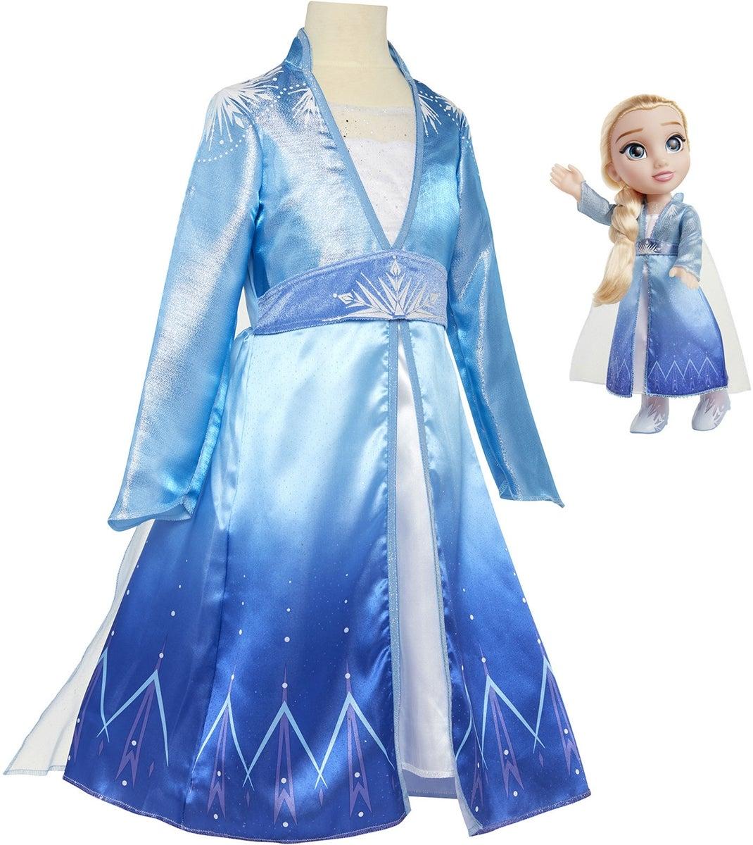 frost 2 elsa børnekostume - Elsa kostume til børn