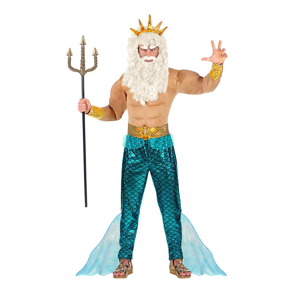 poseidon kostume - Ariel kostume til voksne