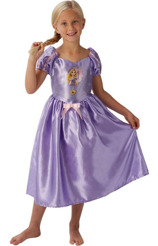 rapunzel børnekostume - Rapunzel kostume til børn