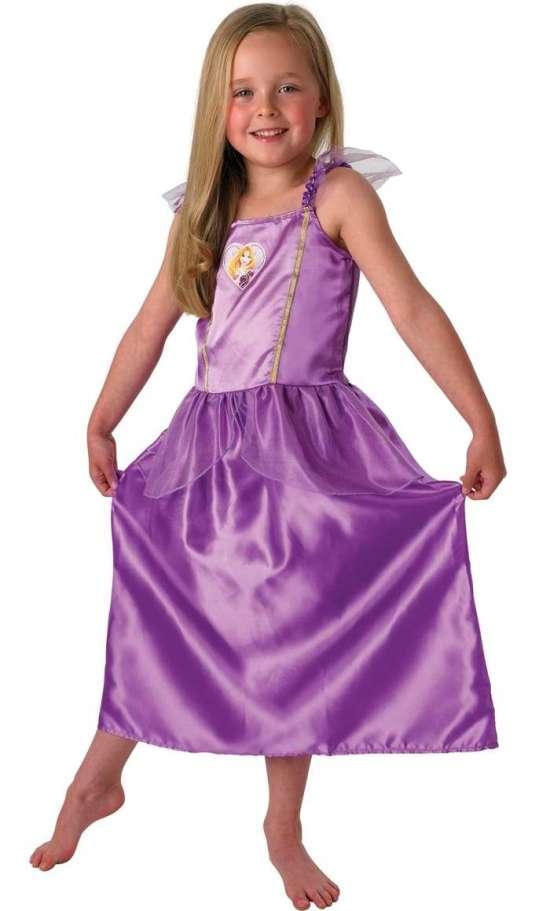 rapunzel kjole til børn - Rapunzel kostume til børn