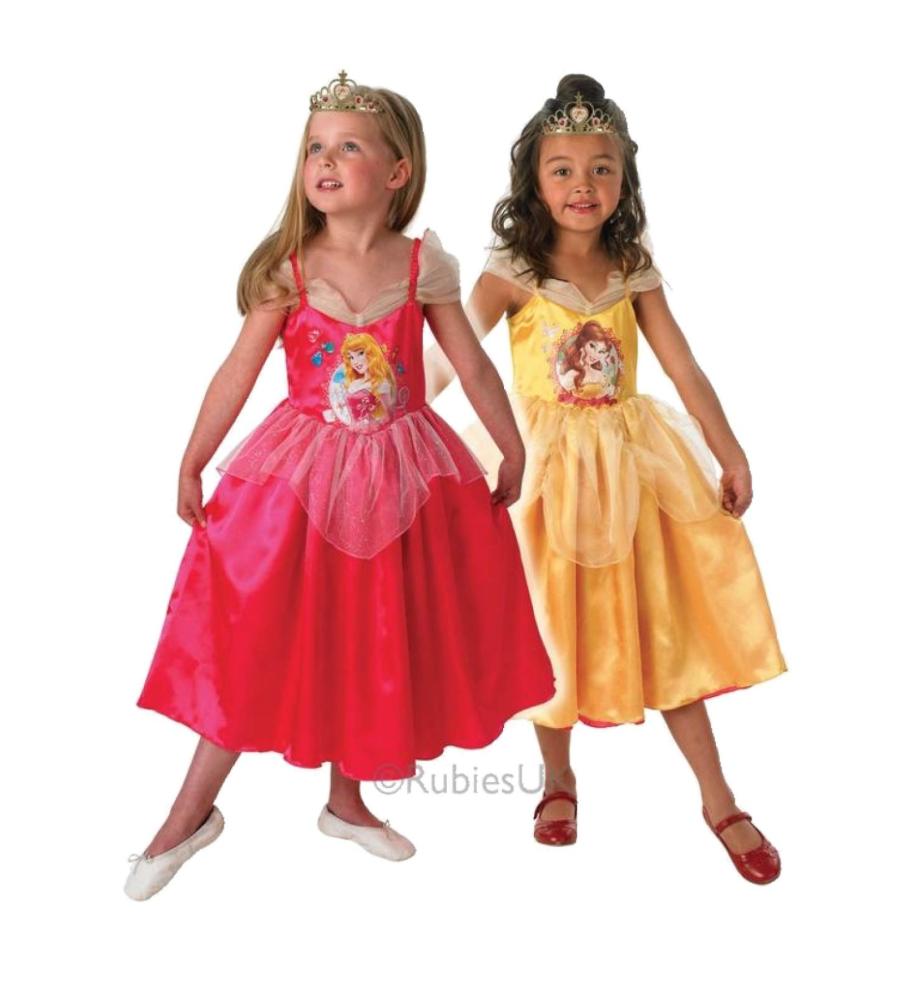 vendbar tornerose kostume til børn - Tornerose kostume til børn