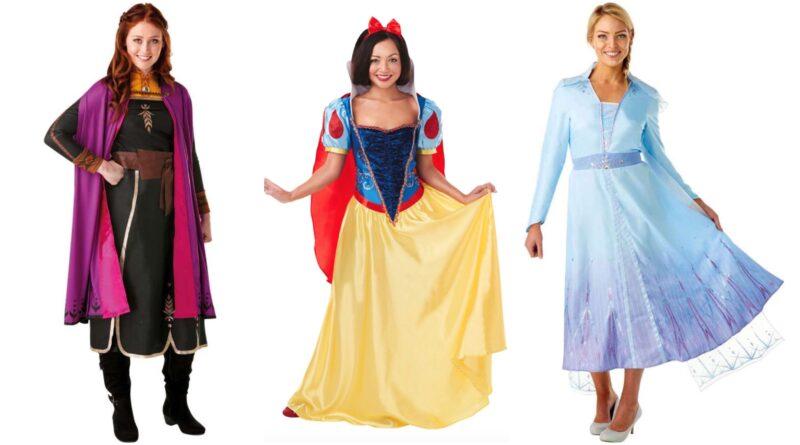 disney prinsesse kostume til voksne, disney kostumer, disney prinsesser kostume, disney prinsesse udklædning, disney prinsesse voksenkostume, disney fastelavnskostumer til voksne, populære kostumer til voksne 2020, årets kostumer 2020,