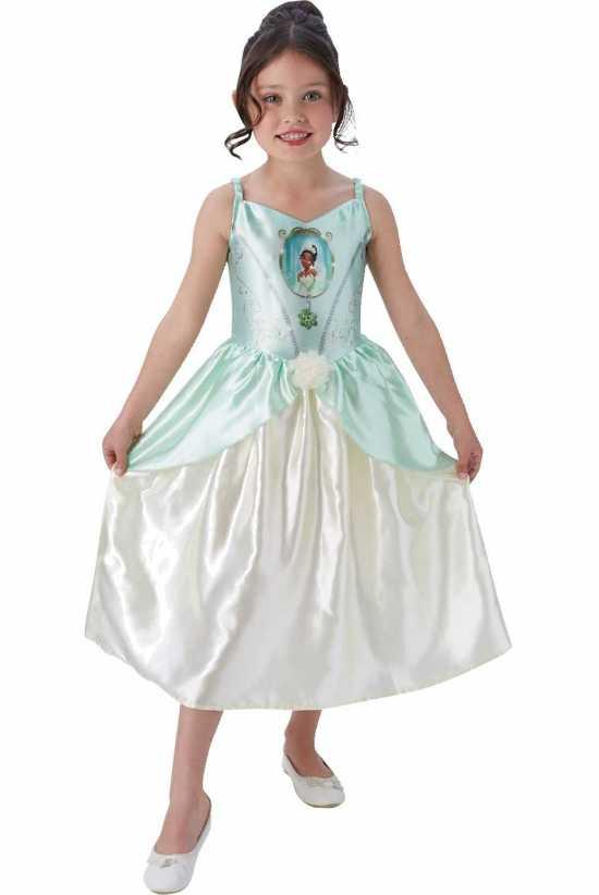 prinsesse tiana boernekostume kostymer licens kostumer - Tiana kostume til børn