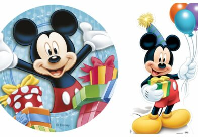 Mickey Mouse kageprint