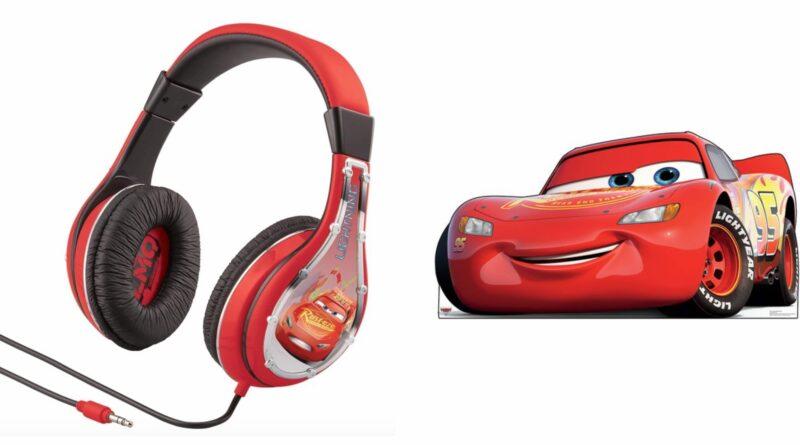 cars høretelefoner til børn, cars headset til børn, cars hovedtelefoner til børn, høretelefoner med lav lyd, disney høretelefoner, disney hovedtelefoner, disney headset, mcqueen høretelefoner til børn, cars gaver, mcqueen gaver
