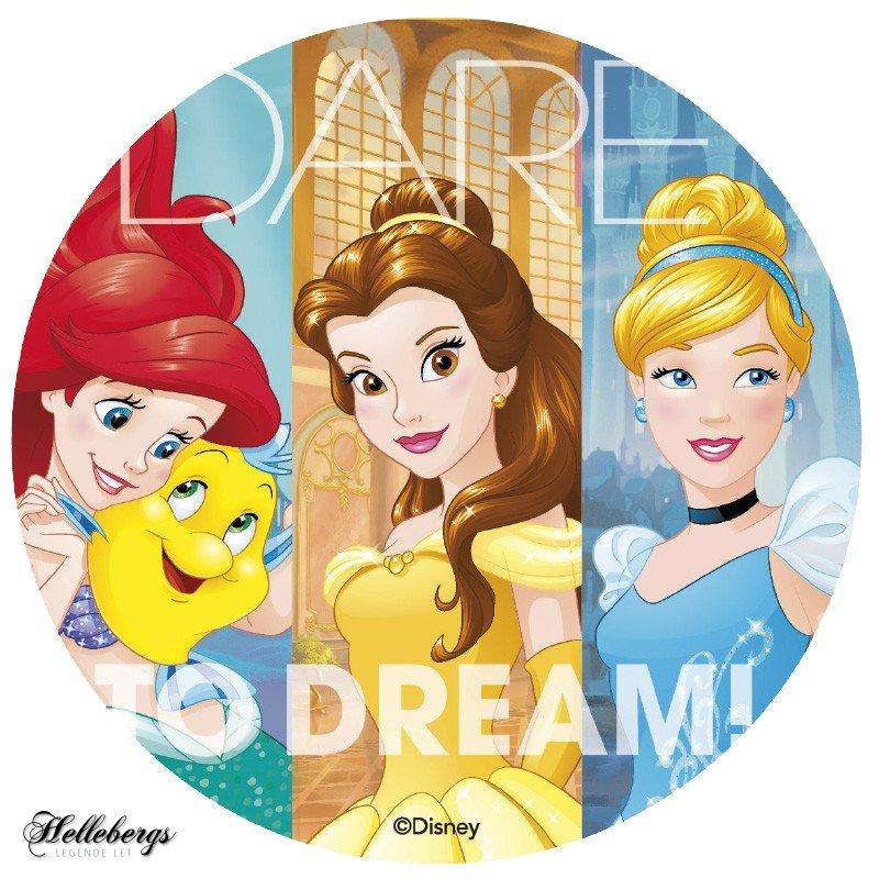disney prinsesse kageprint - Disney prinsesser kageprint