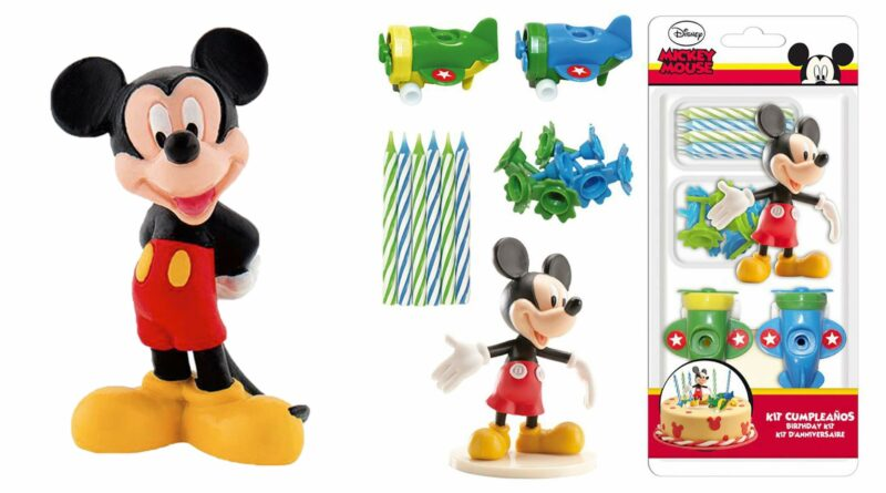 mickey mouse kagefigur, mickey mouse topfigur, mickey mouse kagepynt, mickey mouse kage, nem mickey mouse kage, mickey mouse fødselsdag, alletiders disney
