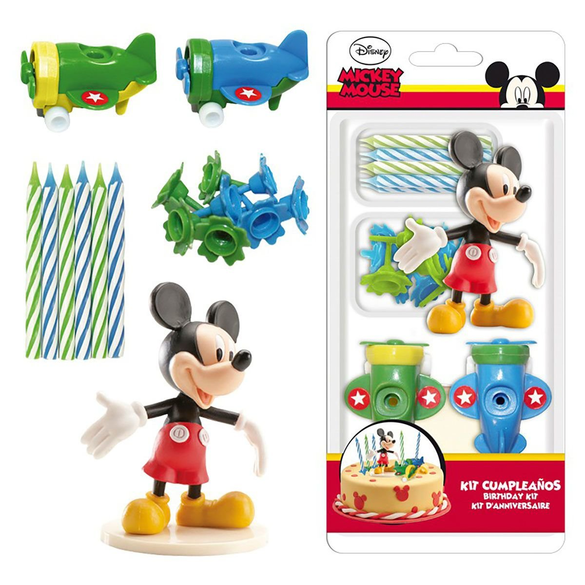 mickey mouse kagepynt - Mickey Mouse kagefigur