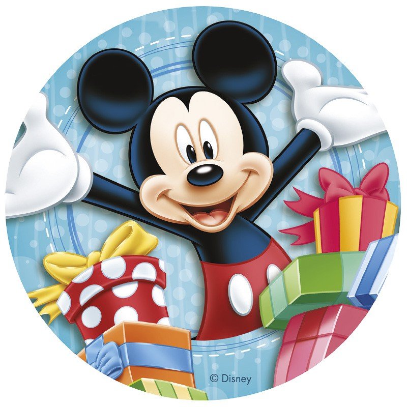 mickey mouse spiseligt billede - Mickey Mouse kageprint