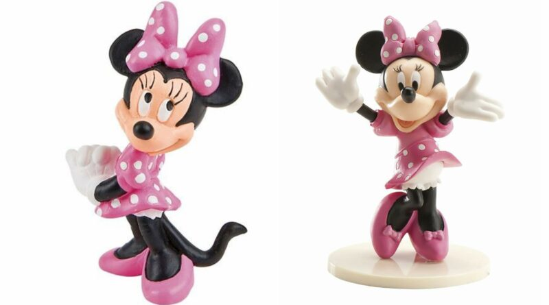 minnie mouse kagefigur, minnie mouse kagepynt, minnie mouse topfigur, minnie mouse fødselsdag, minnie mouse kage, minnie mouse festartikler, alletiders disney